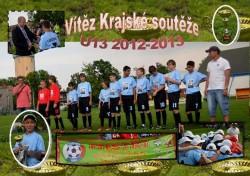 Mladší žáci r. 2000 FK Bohumín slaví titul