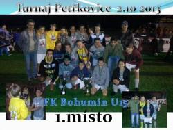 Starší žáci 1. místo na turnaji v Petřkovicích