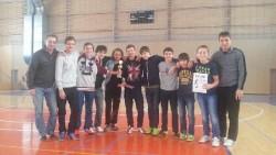 St. žáci U15 - 1. místo